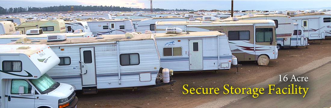 16 Acre Secure Storage Facility